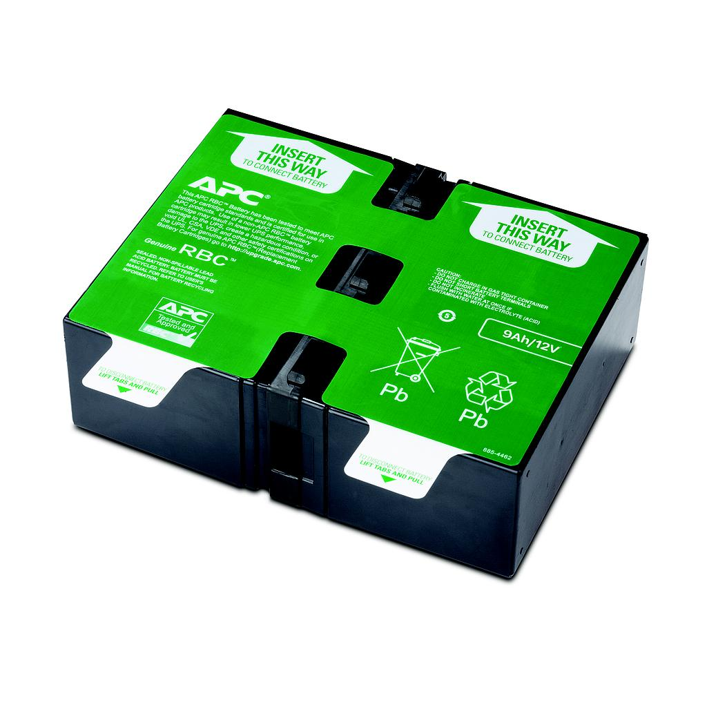 APC replacement battery cartridge # 124