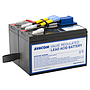 Avacom replacement for RBC48 - battery for UPS