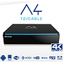 4K Digital T2 terrestial / cable receiver & media player, powered by Android