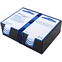 AVA-RBC123 replacement battery for APC: RBC123 battery for UPS - consists of the long brand premium batteries